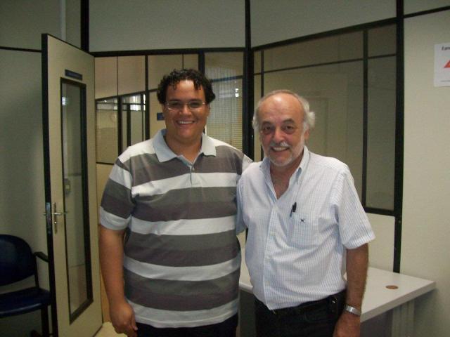 Jeferson Gonzalez e José Luis Sanfelice (orientador)